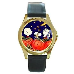 Snoopy charlie brown linus halloween watch 7 styles for Snoopy watches
