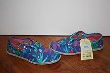 a6c8b6a55e2 item 3 NEW Womens TOMS Cordones Blue Birds of Paradise Multi-Color Shoes  Size 10 -NEW Womens TOMS Cordones Blue Birds of Paradise Multi-Color Shoes  Size 10