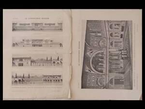 DéLicieux La Construction Moderne - N°47 - 1914 - Thermes De Lutece Paris -