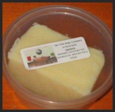 Lip Balm Base 3lbs W/ Organic Shea Butter & Cocoa Butter Sweetened W/ Stevia