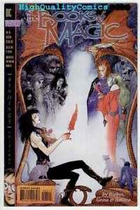 BOOKS-of-MAGIC-4-NM-Vertigo-Death-Anhk-Charles-Vess-1994-more-in-store