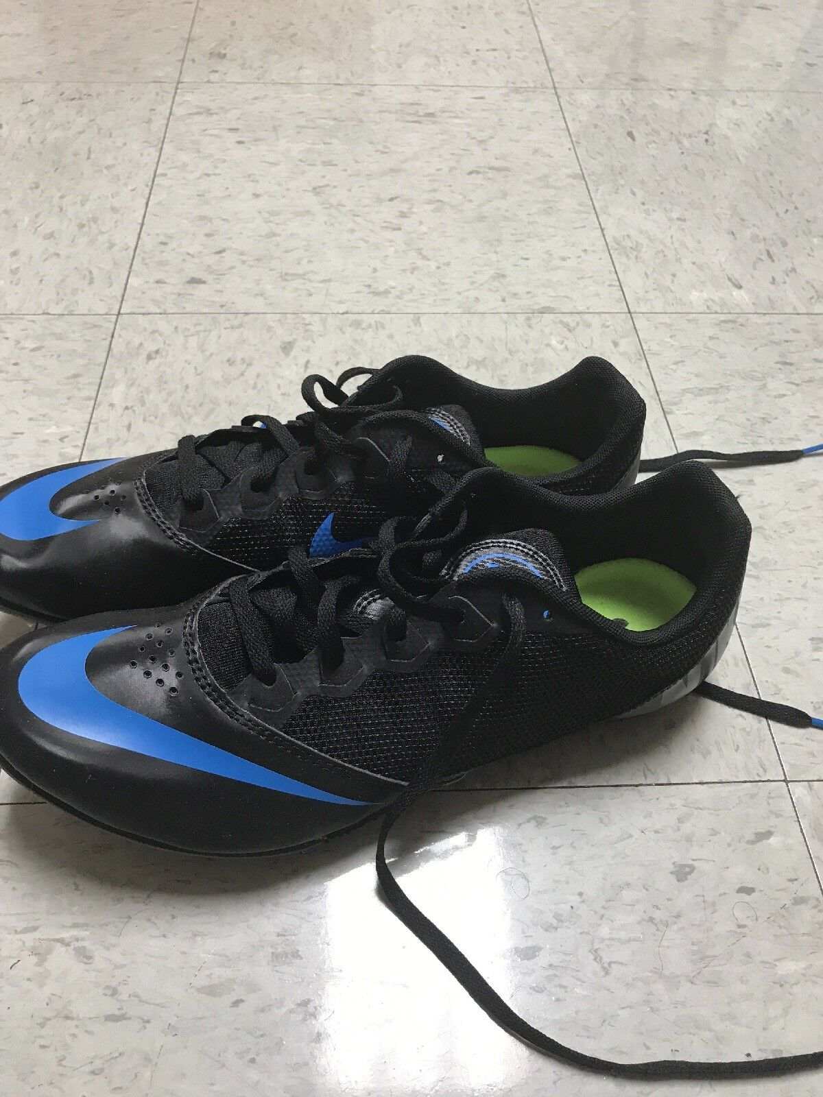 Nike Zoom Rival MD 8 Men's Track Shoes Sz 13 806555-035 Sprint Black Green Fast 806555-035 13 97512a