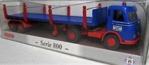 Wiking-1-87-mercedes-benz-LPs-332-rungensattelzug-OVP-0518-53-serie-800-PMS
