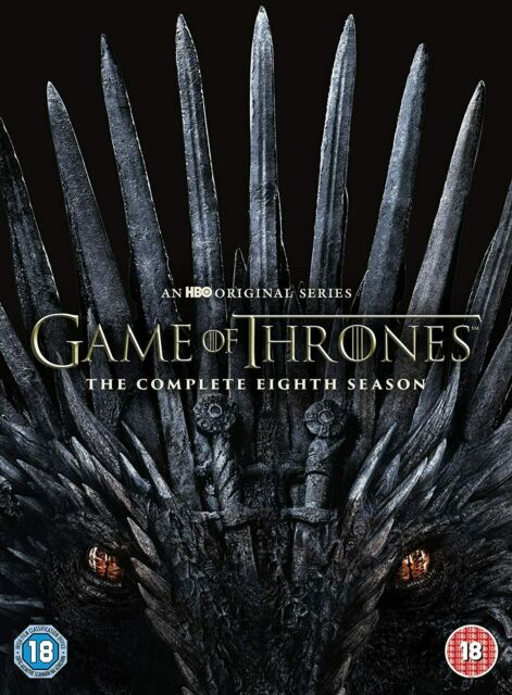Game of Thrones Season 8 (DVD, 2019) - Brand New & Sealed