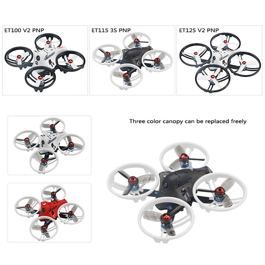 Ldarc et serie ET100 ET115 ET125 3S V2 Micro Drone Cuadricóptero FPV RACING
