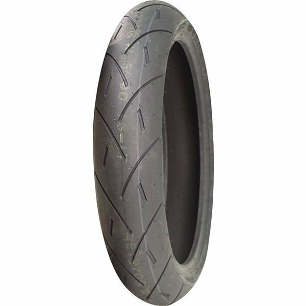 120/60ZR-17 Full Bore USA M-1 Radial Street/Sport Front Tire