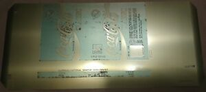 Details About Vintage Coca Cola Classic Original Formula Can Printing Plate Template 93