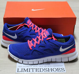 94b86e1902eb NIKE FREE RUN 2 BLUE SOLAR RED 443815-416 RUNNING US 11.5 ext db ...