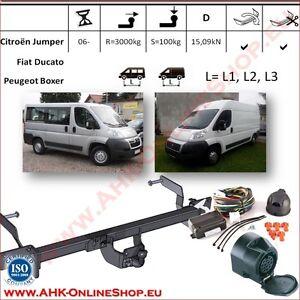 Für Fiat Ducato L1 L2 L3 ab 2006 Anhängerkupplung starr