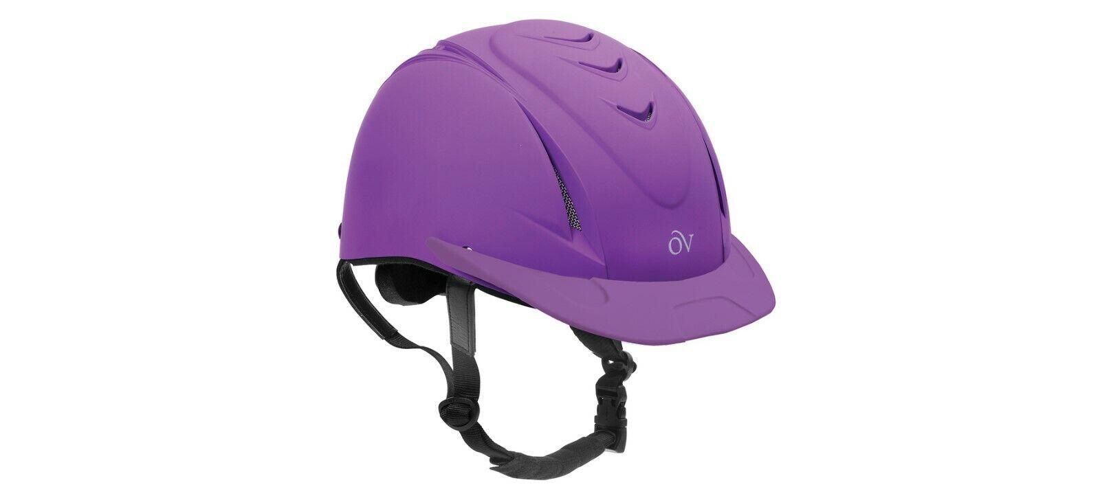 NEW Ovation Deluxe Schooler Helmet -  Small   Medium - Purple  store