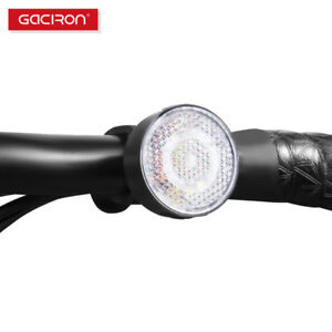 GACIRON-Waterproof-Warning-Bicycle-Front-Light-20-Lumens-USB-Rechargeable-LED