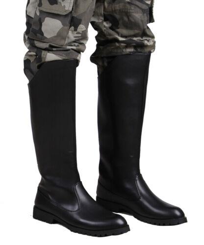 Bottes Hommes Militaire Longue Militaire Cuir En Cuissardes 84Uqw