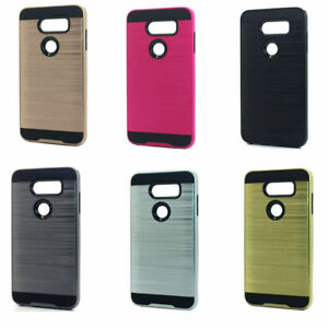 low priced 43d16 430eb SLIM ARMOR BRUSHED FINISH HYBRID CASE FOR T-MOBILE VERIZON AT&T ...