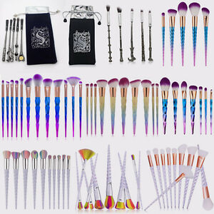 10pcs-Kabuki-Face-Eyeliner-Brush-Thread-Cosmetic-Make-Up-Flat-Brushes-Set-Tools