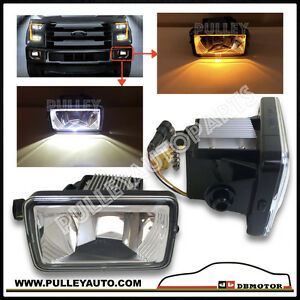 DBMOTOR 2015-2018 Ford F150 LED Fog Lamp with Turn Signal Indicator