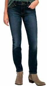 NEW-Lucky-Brand-Ladies-039-Lolita-Skinny-Denim-Jeans-Rampart-Size-4-Inseam-27