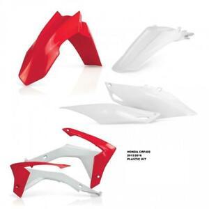 ACERBIS-HONDA-CRF450-R-PLASTIC-KIT-13-16-MUDGUARD-FENDER-SIDE-PANELS-CRF-450-RAD