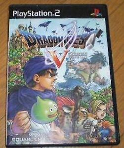 PS2-Dragon-Quest-5-V-Tenku-no-Hanayome-ENIX-Japan