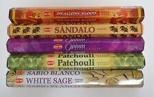 Hem Best Seller Incense Stick Set #1: Top 5 x 20 = 100 Sticks Bulk Sampler