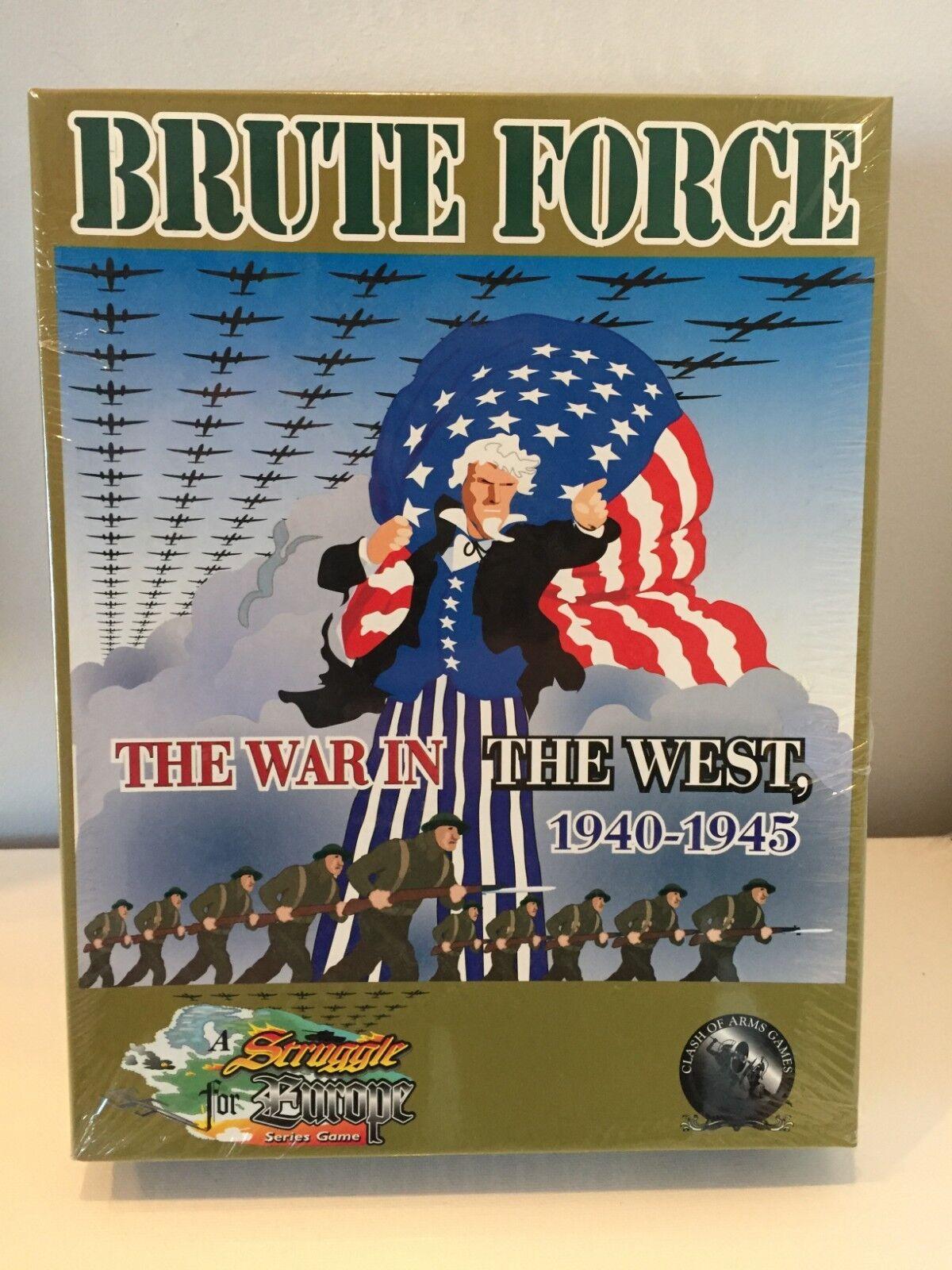 Brutna krafter Kriget i väst, 1940 -1945 e klasserna av vapen, nya förseglade