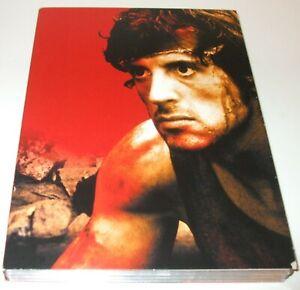 Sylvester  Stallone -  Rambo Trilogy (DVD, 2005, 3-Disc Set, Box Set) acceptable