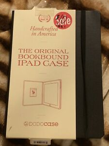 DODO-Hard-Case-Solid-iPad-2-3-amp-4-Black-2525-Bamboo-Cover-Carrying-Protect