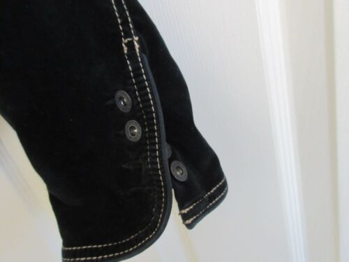 Tappered Taille Design Noir Suade L Vintage Jean g Veste Jeans Guess THqBaa