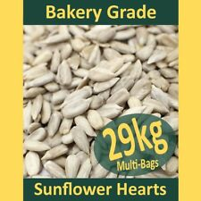 29kg Sunflower Hearts PREMIUM BAKERY GRADE Wild Bird Food Dehulled Seeds Kernels