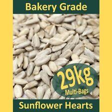 29kg Sunflower Hearts PREMIUM BAKERY GRADE Wild Bird Food Dehulled Seeds Kernels