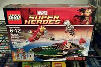 Lego 76006 Marvel Super Heroes Iron Man Extremis Sea Port Battle Sealed
