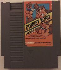 Donkey Kong Classics (Nintendo NES, 1988) Donkey Kong & Donkey Kong Jr.