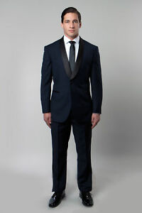 Men S Satin Shawl Lapel Tuxedo Black Tie Formal Wedding Tux Jacket