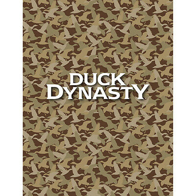 DUCK DYNASTY Tan FLEECE THROW Camo WILLIE Phil JASE Uncle Si CAMOUFLAGE PRINT