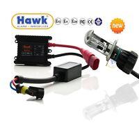 Xenon HID Motorcycle Headlight Conversation Full HI/LO H4 Bulb Kit - 6000k