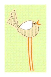 Bird on a Wire Handmade DIGITAL Counted Cross-Stitch Pattern Bella Stitchery