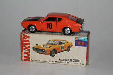 TOMY TOMICA DANDY #018 NISSAN SKYLINE 2000 GT-R, ORANGE, EXCELLENT, BOXED
