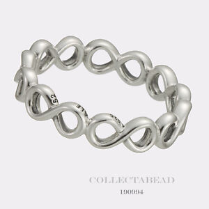 a150d9519 Image is loading Authentic-Pandora-Sterling-Silver-Infinite-Shine-Ring-Size-