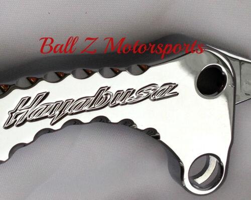 99-18 Hayabusa Chrome Engraved Diamond Brake /& Clutch Levers w//Ball Cut Edges!
