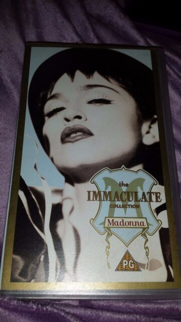 Madonna – The Immaculate Collection (VHS) *** FREE POSTAGE ***