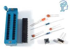 Breadboard Parts Kit Atmega328p Zif Socket Bootloader Arduino Compatible
