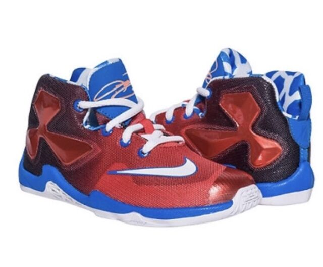 Nike Lebron Xiii Td 13 James On Court Away Td Toddler Baby Shoes 808711 610 7 C For Sale Online Ebay
