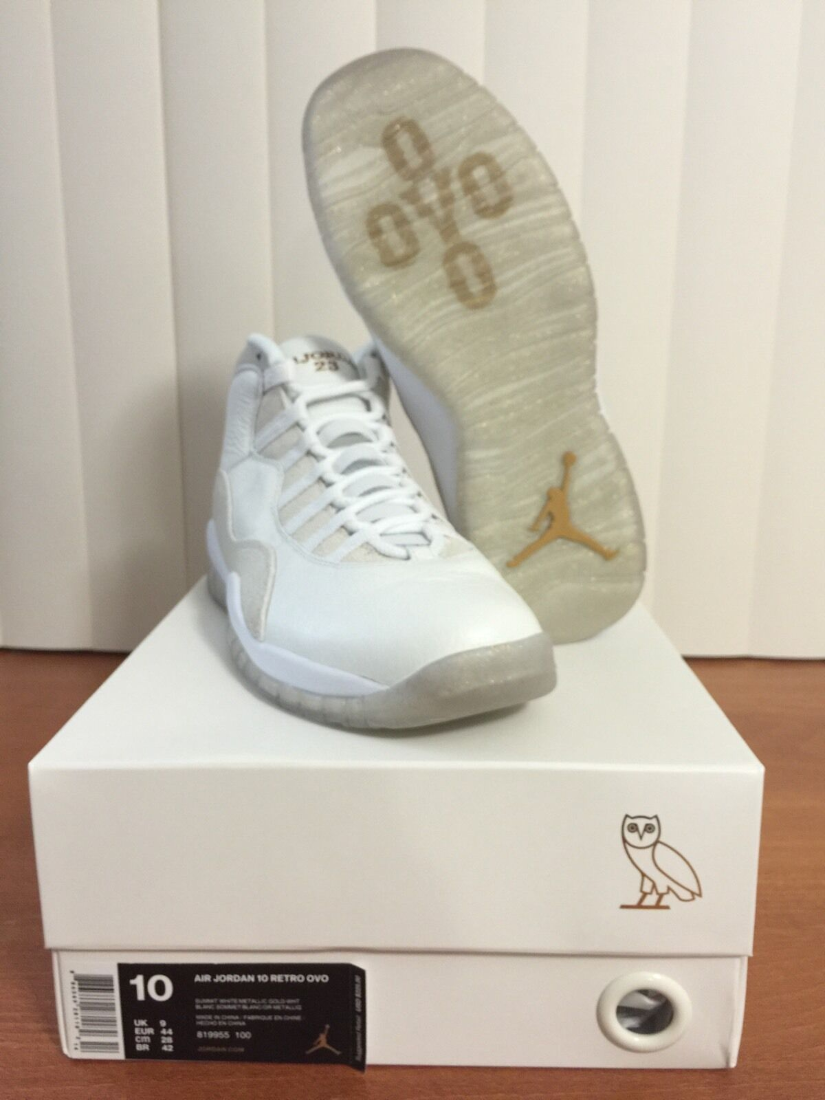 AIR JORDAN 10 RETRO OVO SIZE 10 LIMITED EDITION 1ST RELEASE