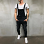 Men-Distressed-Denim-Overalls-Suspender-Trousers-Bib-Pants-Skinny-Jean-Jumpsuits thumbnail 9