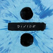 ED SHEERAN DIVIDE ÷ CD (STANDARD EDITION) - NEW RELEASE MARCH 2017