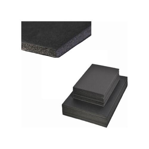 3mm Schaumkarton A4 schwarz 5 Bogen