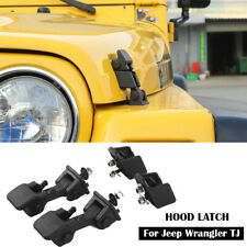For Jeep Wrangler Tj 1997 2006 Locking Hood Latch Catch Latches Amp Bracket Parts Fits 1997 Jeep Wrangler