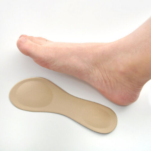 Heel Foot Cushion 3/&4 Insole Shoe pad For Vogue Women Orthotic Arch Support NIWD