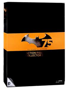 DC Batman 75 Years Collectors Deluxe Box Set 1 Acción Figuras