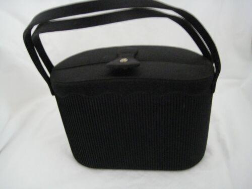 Vintage Satin Evening Oval Box Bag, Coblentz Origi