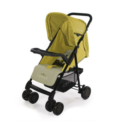 Holiday Mini Buggy Crown Pushchair Children/'s Buggy Sport Stroller Yellow